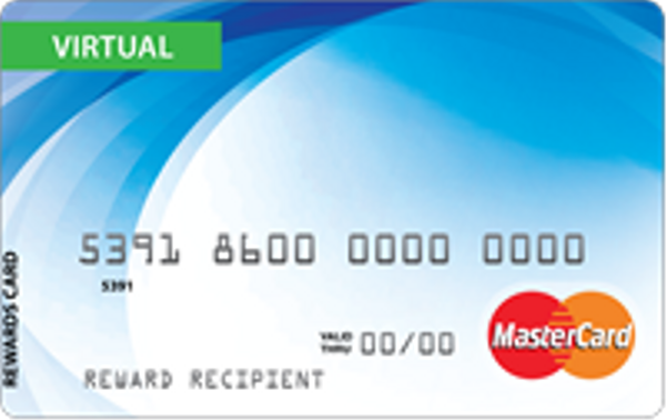 Virtual MasterCard Reward - USD - 180 Day Link - 6 Month Expiration logo